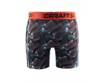 CRAFT GREATNESS BOXER 6-INCH BOXERSHORTS beam black/hear