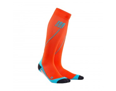 cep RUN 2.0 compression socks sunset/hawaii blue