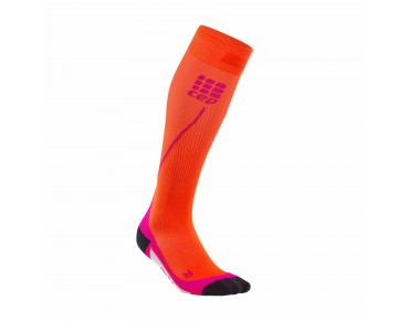 cep RUN 2.0 women's compression socks sunset/pink