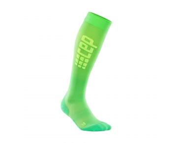 cep RUN ULTRALIGHT women's compression socks viper/green