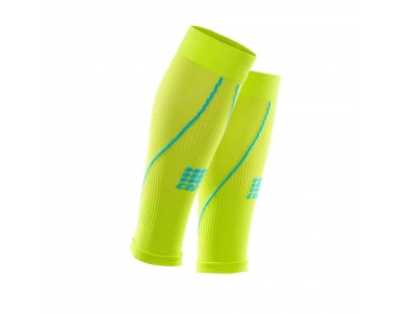 cep CALF SLEEVES 2.0 Kompressionsstutzen lime/hawaii blue