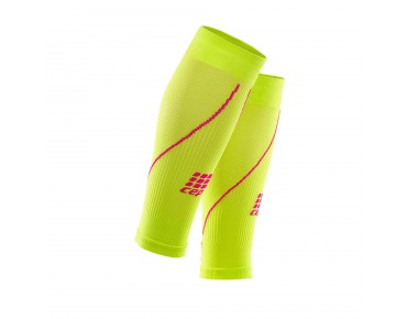 cep CALF SLEEVES 2.0 women's compression sleeves lime/pink