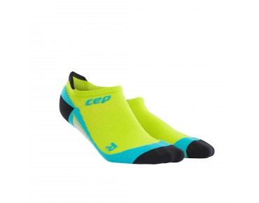 cep NO SHOW socks lime/hawaii blue