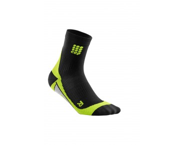 cep SHORT socks black/green