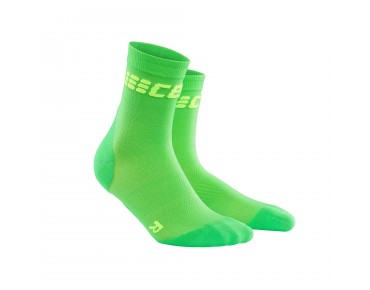 cep ULTRALIGHT SHORT Socken viper/green