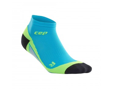 cep LOW CUT socks hawaii blue/green
