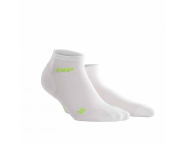 cep ULTRALIGHT LOW CUT Socken white/green