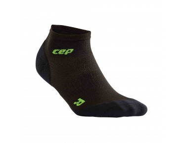 cep ULTRALIGHT LOW CUT socks black/green