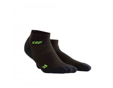 cep ULTRALIGHT LOW CUT Socken black/green
