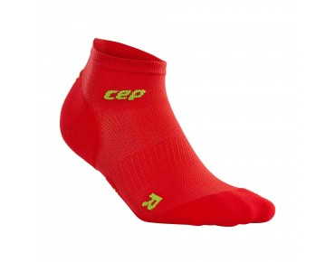 cep ULTRALIGHT LOW CUT Socken red/green