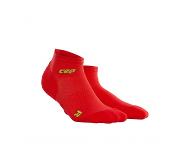 cep ULTRALIGHT LOW CUT socks red/green