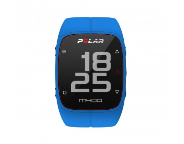 Polar M400 HR sports watch blue