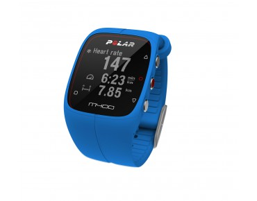Polar M400 HR GPS training watch blue