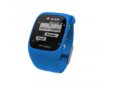 Polar M400 HR Trainingsuhr blue