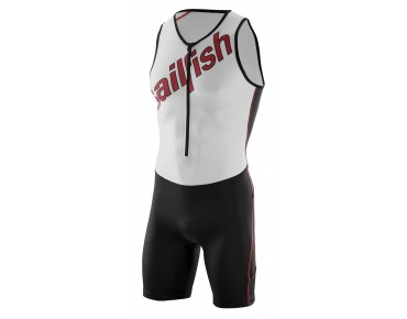 sailfish TEAM trisuit white/red