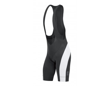 GORE BIKE WEAR POWER bib shorts black-white