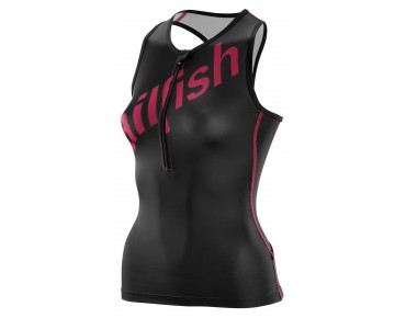 sailfish TEAM women's tri top black/pink