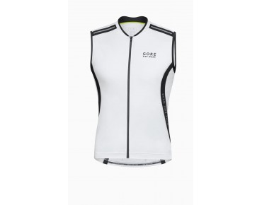 GORE BIKE WEAR POWER 2.0 sleeveless jersey white/black