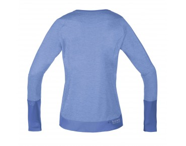 GORE BIKE WEAR POWER TRAIL LADY long-sleeved women's shirt vista blue/blizzard blue