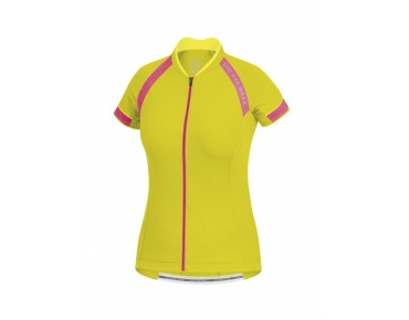 GORE BIKE WEAR POWER 3.0 women's jersey sulphur yellow/giro pink