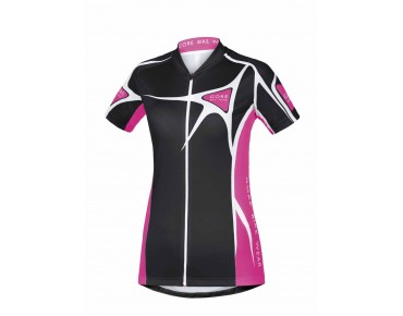 GORE BIKE WEAR ELEMENT LADY ADRENALINE 2.0 women's jersey black/magenta