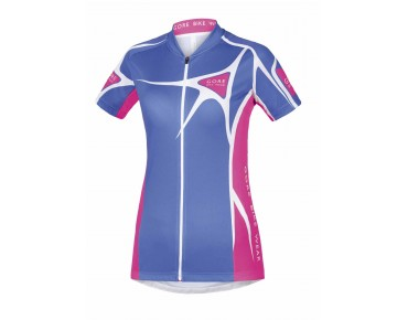 GORE BIKE WEAR ELEMENT LADY ADRENALINE 2.0 women's jersey blizzard blue/magenta