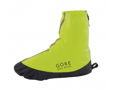 GORE BIKE WEAR ROAD GT LIGHT overshoes neon yellow