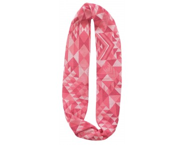 BUFF INFINITY COTTON JACQUARD Loop tribe pink
