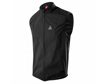 Löffler WINDSTOPPER ACTIVE SHELL vest schwarz