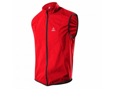 Löffler WINDSTOPPER ACTIVE SHELL vest red
