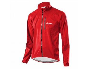 Löffler WPM-3 waterproof jacket red