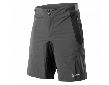 Löffler TOURANO bike shorts incl. inner shorts charcoal