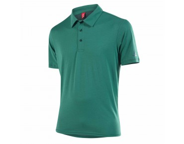 Löffler SINGLE CF polo shirt tannengrün
