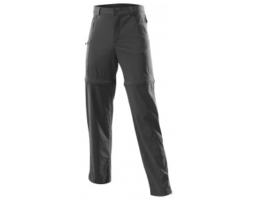Löffler CSL ZIP-OFF trekking trousers charcoal