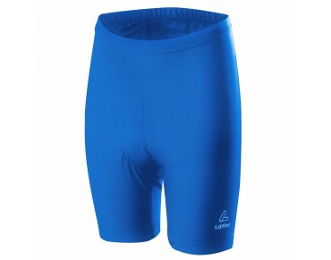 Löffler Kids' cycling shorts tiefblau