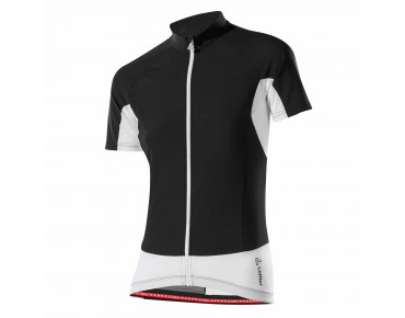 Löffler WINDSTOPPER FZ women's jersey black/white