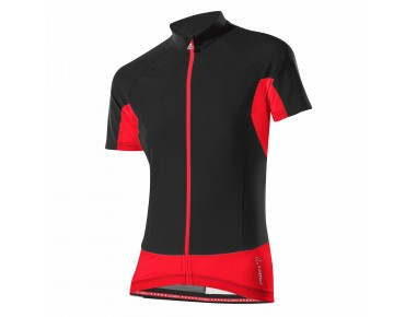 Löffler WINDSTOPPER FZ women's jersey black/red