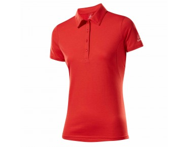Löffler TRANSTEX SINGLE CF women's polo shirt strawberry