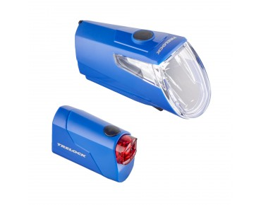 Trelock LS 360 I-GO Eco/ LS 720 Reego ION lighting set -2016- blue