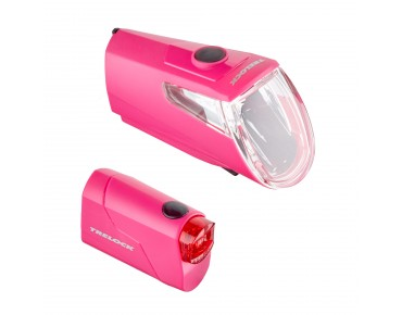 Trelock LS 360 I-GO Eco/ LS 720 Reego ION lighting set -2016- pink