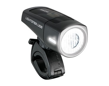 Sigma Lightster USB LED front light black