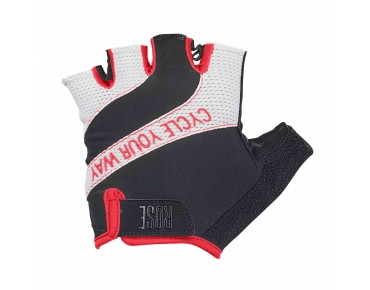 ROSE LADY LINE CYW GEL gloves black/white/red