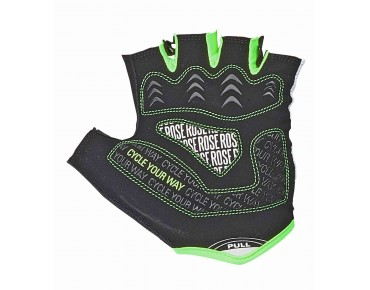ROSE LADY LINE CYW GEL gloves black/white/green