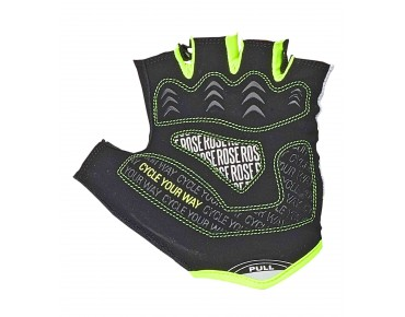 ROSE LADY LINE CYW GEL gloves black/white/lime