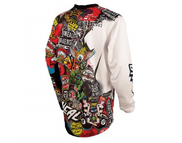 O´NEAL MAYHEM LITE bike shirt crank black/multi