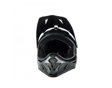 O´NEAL SPARK STEEL Vollvisierhelm black/grey