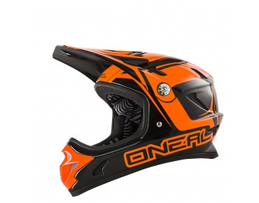 O´NEAL SPARK STEEL full visor helmet orange