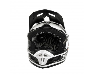 O´NEAL FURY RL II - casco con supporto Go Pro afterburner black