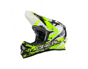 O´NEAL BACKFLIP RL II Vollvisierhelm shocker black/neon yellow