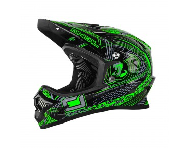 O´NEAL BACKFLIP RL II full visor - casco venture green